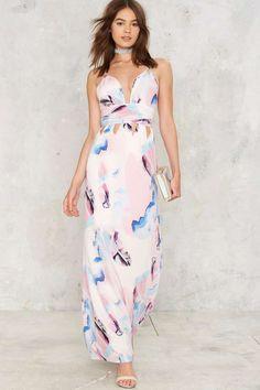 Broad Strokes Maxi Dress | Shop Clothes at Nasty Gal!
