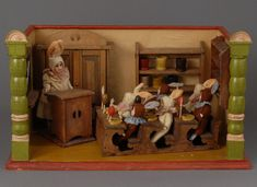 Fabulous  Roombox, from Carmel Doll Shop.