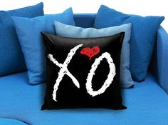 The Weeknd XO Pillowcase  These soft pillowcase made of 50% cotton, 50% polyester.  It would be perfect to decorate your home by using our super soft pillow cases on sofa, chair, bench or bed.  Customizable pillow case is both comfortable and durable, improving the quality of your sleep with these comfortable pillow case, take it home now!  Custom Zippered Pillow Cases available in 7 different size (16″x16″, 18″x18″, 20″x20″, 16″x24″, 20″x26″, 20″x30″, 20″x36″)
