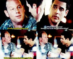 Rookie Blue S6 E8 lol love Oliver and Sam's friendship