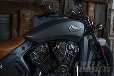 2015 Indian Scout Cruiser Motorcycle Review & Road Test- Photos- Specs