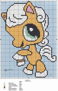 13 C2c Crochet, Filet Crochet, Chrochet, Cross Stitch Charts, Cross Stitch Patterns, Little Pet Shop, Baby Dragon, Cross Stitch Animals, Baby Patterns