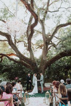 Spring Miami Garden Wedding at Villa Woodbine