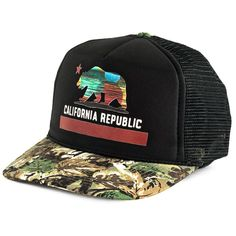Boné Blanks Co Snap Back California Aba Curva Camuflado Preto f06b8155a97