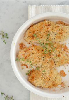 Kip met parmezaan en panco in de oven - Uit Pauline's Keuken !