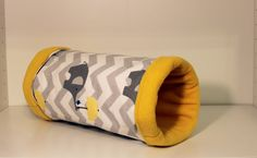 Freestanding Guinea Pig Tunnel Toy  Reinforced by SewingInCZ