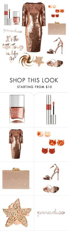 """""""copper"""" by greensparkle1 ❤ liked on Polyvore featuring Nails Inc., Yves Saint Laurent, Alice & You, KOTUR, Lella Baldi, Dodo and Umbra"""
