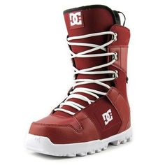 DC Shoes Phase 15 Men Red Snow Boot