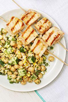 Swordfish with Summer Saladgoodhousemag