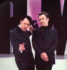 Vic Reeves, Ah Ok, Blackadder, Comedy Duos, Morecambe, Bbc Tv, British Comedy, Comedians, Bob