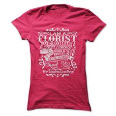 i am a Florist T Shirts, Hoodies. Get it here ==► https://www.sunfrog.com/LifeStyle/i-am-a-Florist-51169283-Guys.html?57074 $19.99