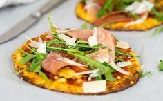 Wenig Kohlenhydrate und so lecker – Klick hier für das Rezept zu unserer Low Carb Pizza mit Parmaschinken aus dem Thermomix®