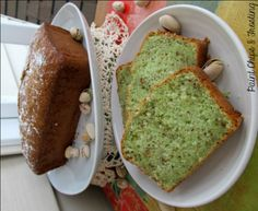Pistachio Loaf Prep Time: 10 minutes Cook Time: 45 minutes Ingredients: 1 box white cake mix 1 3.4 oz. box pistachio pudding 1/4 cup white sugar 1/2 cup oil 1/2 cup cold water 1 cup sour cream 4 eggs 1/2 cup chopped nuts
