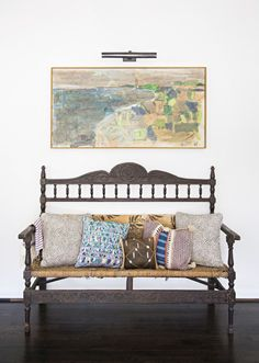 Painting inspiration - See more images from sally king-benedict: an artist inspires a family-friendly renovation on domino.com