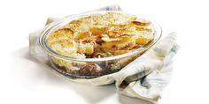 Boodschappen - Gegratineerde zuurkoolschotel met gehakt Camembert Cheese, Oatmeal, Dairy, Pudding, Breakfast, Desserts, Food, Ovens, Healthy Recipes