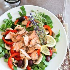 Healthy salade tip - Zalm en Olijven