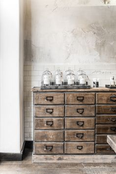 Le Labo Fragrances in Paris was also like exploring accident find, but amazing one! I love everything which has its own strong c. Bunny Room, Perfume Diesel, Miniature Bottles, Lush Bath, Paris, Store Design, Decoration, Painted Furniture, Shabby Chic