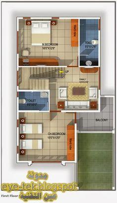 2bhk House Plan, Simple House Plans, Model House Plan, 3 Storey House Design, Duplex House Design, Small House Design, Duplex Floor Plans, House Floor Plans, 20x30 House Plans