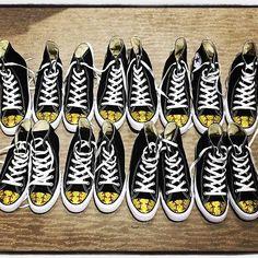 2ffb86a60563 Softball bling for the entire softball team! Tricked Kicks  Custom Made Bling  Shoes