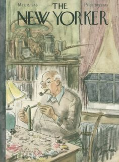 The New Yorker - Saturday, March 13, 1948 - Issue # 1204 - Vol. 24 - N° 3 - Cover by : Perry Barlow