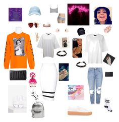 """Going to A Rihanna concert with Kehlani and looking like some goddess gangster"" by taylortibbs ❤ liked on Polyvore featuring Marc Jacobs, River Island, MANGO, Lucky Brand, Puma, Topshop, Tommy Hilfiger, Betsey Johnson, Chanel and Juicy Couture"
