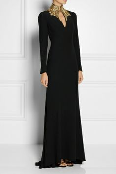 Alexander McQueen by Wedding Robe, Looks Black, Fantasy Dress, Dream Dress, Beautiful Outfits, Nice Dresses, Ideias Fashion, Ball Gowns, Evening Dresses