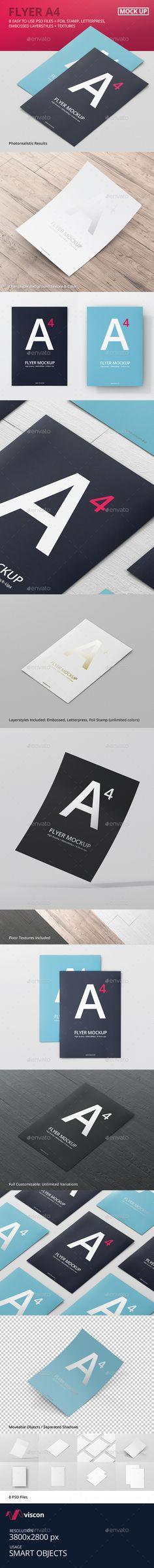 Flyer Mock-Ups #design Download: http://graphicriver.net/item/flyer-mockups/12352829?ref=ksioks