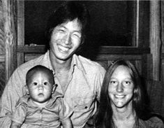 Tragic cute family.  Jonestown, Guyana  This is Jim Jones' son and his family. All three died there in 1978.