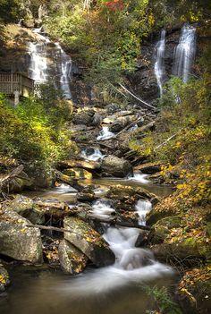 So Peaceful! - 'Ana Ruby Falls In Autumn' - http://fineartamerica.com/featured/ana-ruby-falls-in-autumn-penny-lisowski.html via @fineartamerica