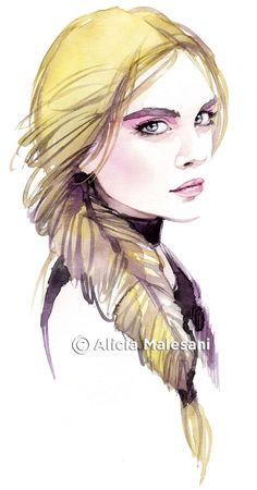Alicia Malesani Fashion Illustration