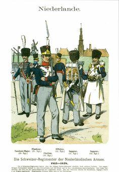 Waterloo 1815, Army Uniform, Military Uniforms, Dutch East Indies, Napoleonic Wars, American Revolution, Troops, Scandinavian, Holland