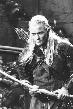 Orlando Bloom as Legolas - 'The Lord of The Rings'