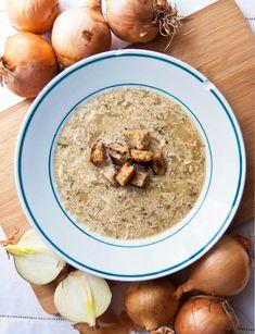 Milionová polévka – Češka z Česka Thing 1, Prague, Oatmeal, Breakfast, Food, The Oatmeal, Morning Coffee, Rolled Oats, Essen