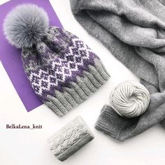 Knitting Room, Fair Isle Knitting, Loom Knitting, Knitting Patterns, Knitting Accessories, Custom Hats, Crochet Yarn, Knitted Hats, Winter Hats