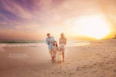 Gorgeous 30-a Sunset Beach Session by Kansas Pitts - Love the tutudumonde outfits! http://kansaspitts.com/the-hatcher-familys-sunset-beach-session-on-30-a-santa-rosa-beach-photographer/