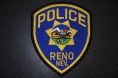 Reno Police Patch, Washoe County, Nevada