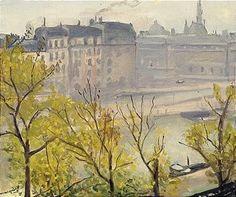 Albert Marquet, AUTOMNE A PARIS