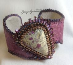 Lilly Pad An Art Piece Bracelet / Cuff created by by LynnParpard