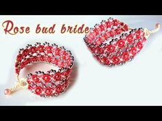 How to macrame: The Double rose bud bride bracelet tutorial- Hướng dẫn thắt vòng tay nụ hoa hồng - YouTube