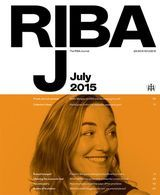 NEW ISSUE RIBA JOURNAL JULY 2015 PRINT ARRIVED 2.7.15