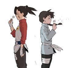 Os filhos do Neji e Tenten 😖 Naruto Oc, Anime Naruto, Naruto Y Boruto, Sarada Uchiha, Otaku Anime, Manga Anime, Hinata, Sasuke, Naruhina