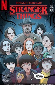TLIID 367. Stranger Things in JLI # 1 by AxelMedellin