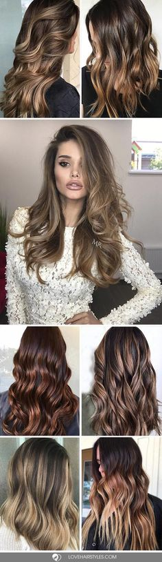 Hair Color 2017/ 2018 Highlights for dark brown hair are all different and it will take you a while to
