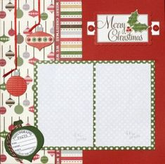 Best 25+ Christmas scrapbook layouts