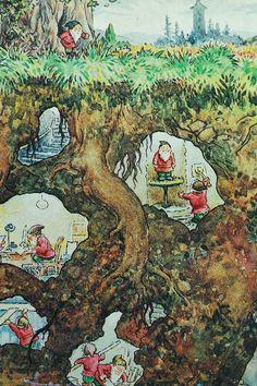 Rupert Bear Annual, inside cover