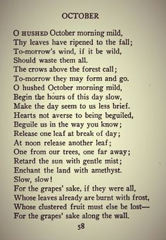 """One of my very favorite poems by Robert Frost. """"...Enchant the land with amethyst.."""" Exquisite! ~BlackCat =^..^="""