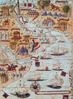 1519'da Kızıldeniz'de Osmanlı ve Portekiz gemileri
