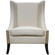 Noir Aiden Chair, Black SOF191