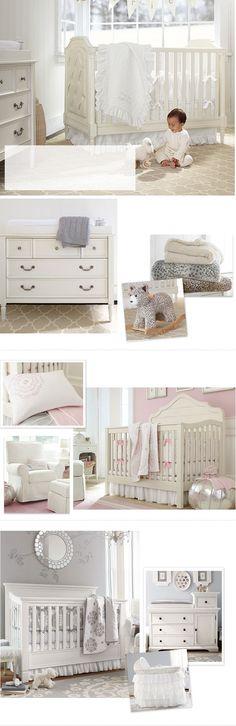 Classy baby nursery