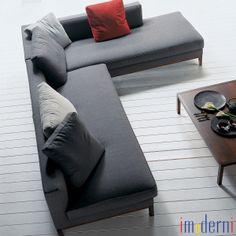 imoderni llc Tel: (305) 865-8577 info@imoderni.com Modern Sectional, Sectional Sofas, Modern Furniture, Ottoman, Couch, Chair, Home Decor, Decoration Home, Room Decor